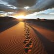 Fototapeten,wüste,hike,afrika,wanderer