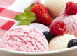 Ice Cream With Berry Fruits