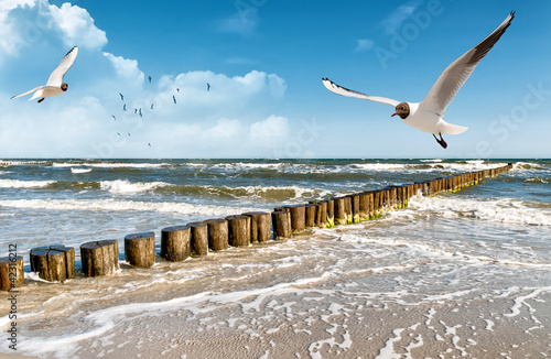 Poster Water Ostsee