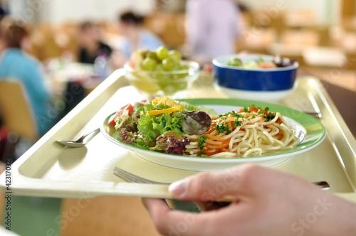 Menü in der Mensa Schulmensa Essen - 42317032
