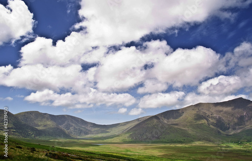 scenic nature landscape photography, rural nature ireland
