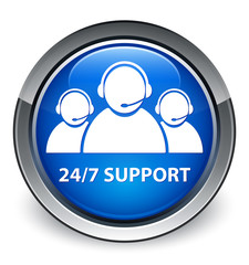 """24/7 Support"" (Customer care team) icon"