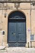 Leinwanddruck Bild - Historical palace. Martano. Puglia. Italy.