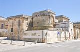 Fototapety The Aragonese Castle of Martano. Puglia. Italy.