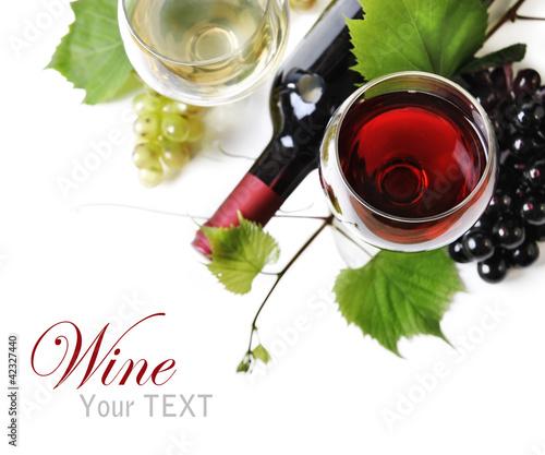Fototapete Wein - Weine - Poster - Aufkleber