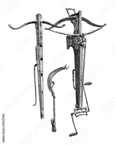 Crossbow - Arbalete - Armbrust_14th century