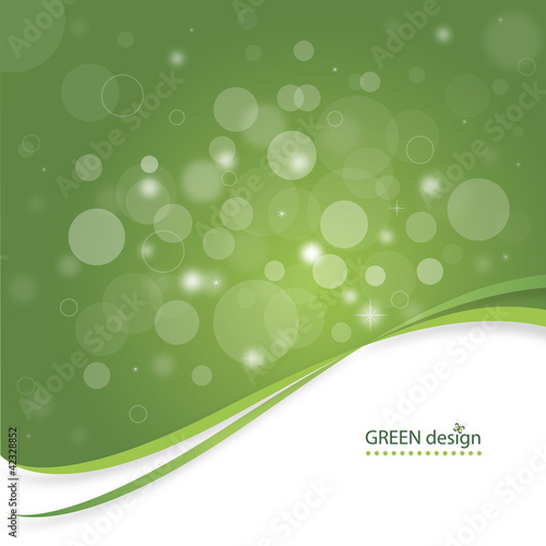 Magical Abstract Green Design