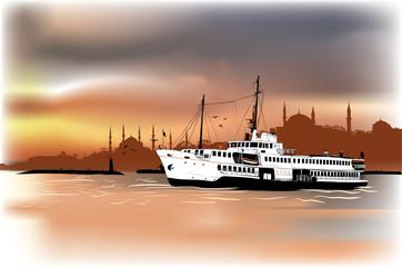 Istanbul steamship