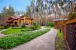Wooden mansion - 42333279