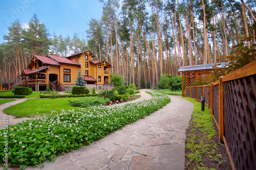 Wooden mansion