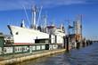 Hamburg Cap San Diego und Elbphilharmonie