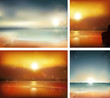 Seascape backgrounds.