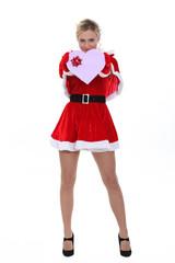Miss Santa.