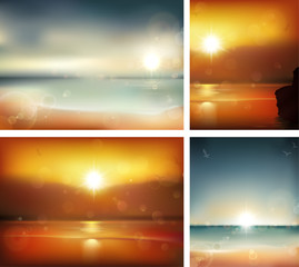 Seascape backgrounds.