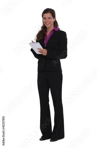 Smart executive secretary