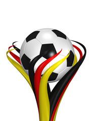 Fussball Blume Deutschland