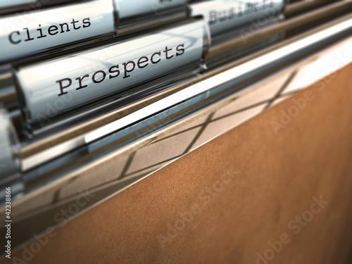prospects et clients, démarche commerciale