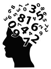 numbers head
