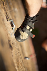 climber's foot