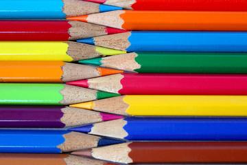 Color pencils pattern