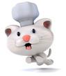 Fun chef cat