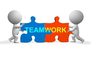 puzzles teamwork
