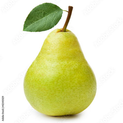 pears isolated on white background © atoss