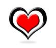 Coeur en 3D