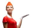 Pretty stewardess