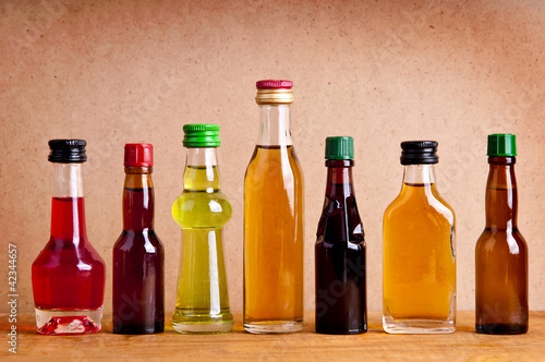 bottles of alcohol drinks