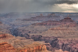 Grand Canyon before storm