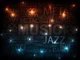 Fototapety music style