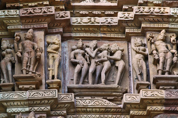 I templi erotici di Khajuraho - India