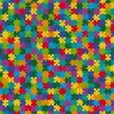 Fototapety Puzzle Muster Hintergrund BUNT - endlos