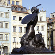 The mermaid - Syrena - is the symbol of the city of Warsaw (Pola