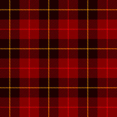 Tartan, plaid pattern. Seamless illustration.