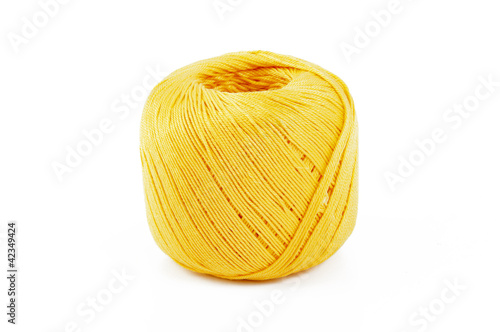 Cotton yarn yellow