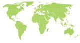 Mapa świata świata