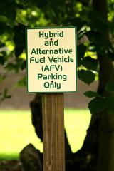 Hybrid parking sign
