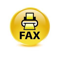 FAX Button Gold