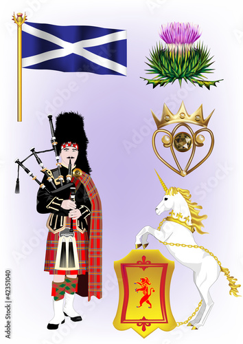Scottish Vector Illustrations