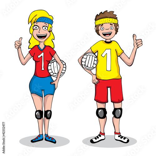 equipo de volleyball: