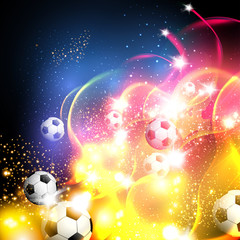 football abstract art background