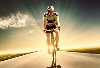 Sunset Bicycling