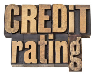 credit rating in wood type