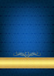Mavi bitkisel tekstüre background