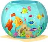 Fototapety aquarium