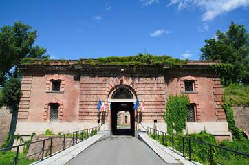 Ingresso della Cittadella di Alessandria