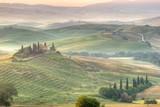 Paesaggio toscano, italia