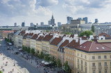 Fototapety Warsaw cityscape - view from Old Town
